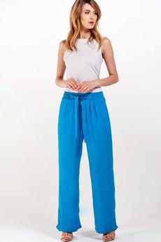 Голубые брюки из хлопка Sheldi